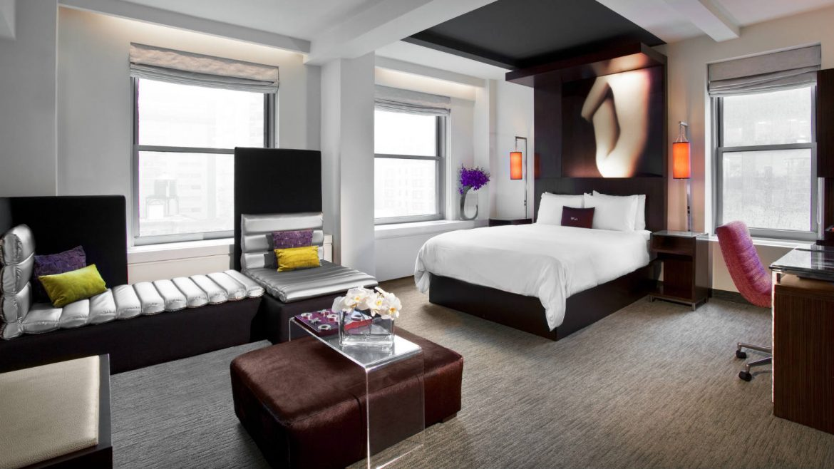 \/ INTERIOR DESIGN GIANTS : W NEW YORK CITY HOTEL  Interior Design Giants