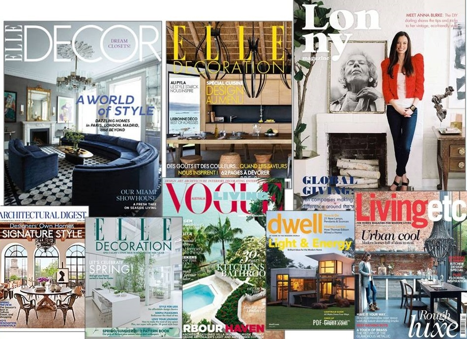 Best Decorating Magazines Interior Design Giants