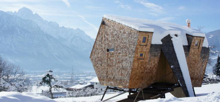Architecture Amazing Mountain House Getaways
