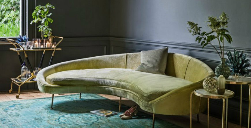 amazing ideas to bring curved furniture to your living room 5