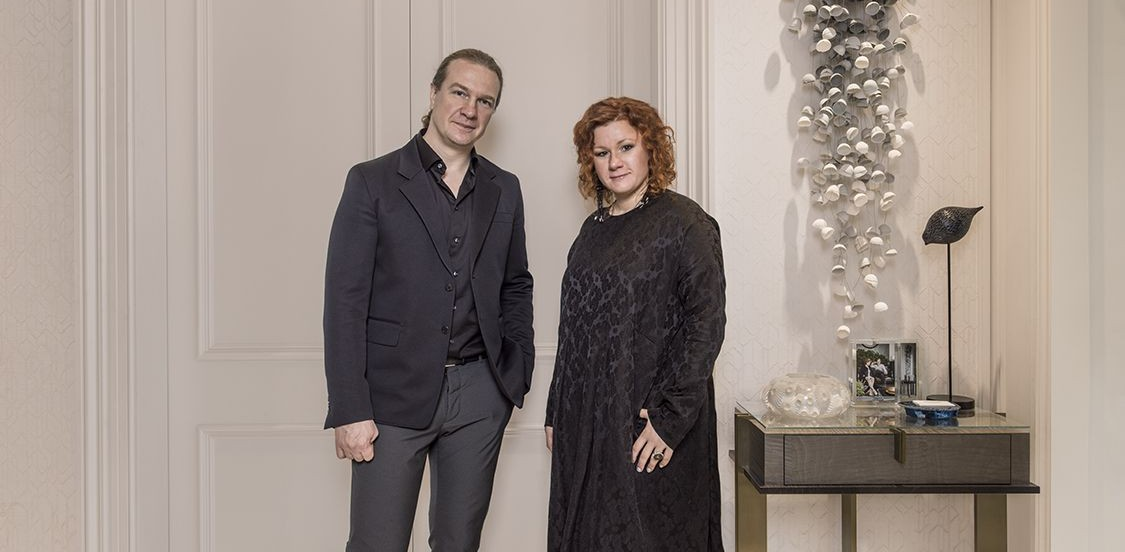 Rusian Interior Designers Oleg Klodt and Anna Agapova in Interview