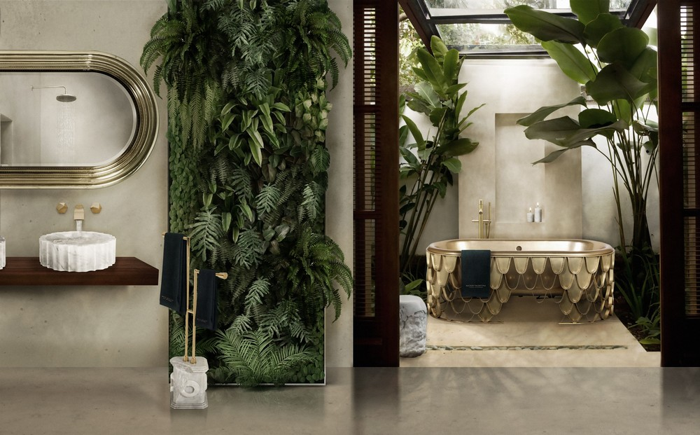 Maison Valentina-bathroom plants design